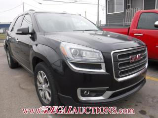 Used 2013 GMC Acadia SLT1 4D Utilityawd for sale in Calgary, AB
