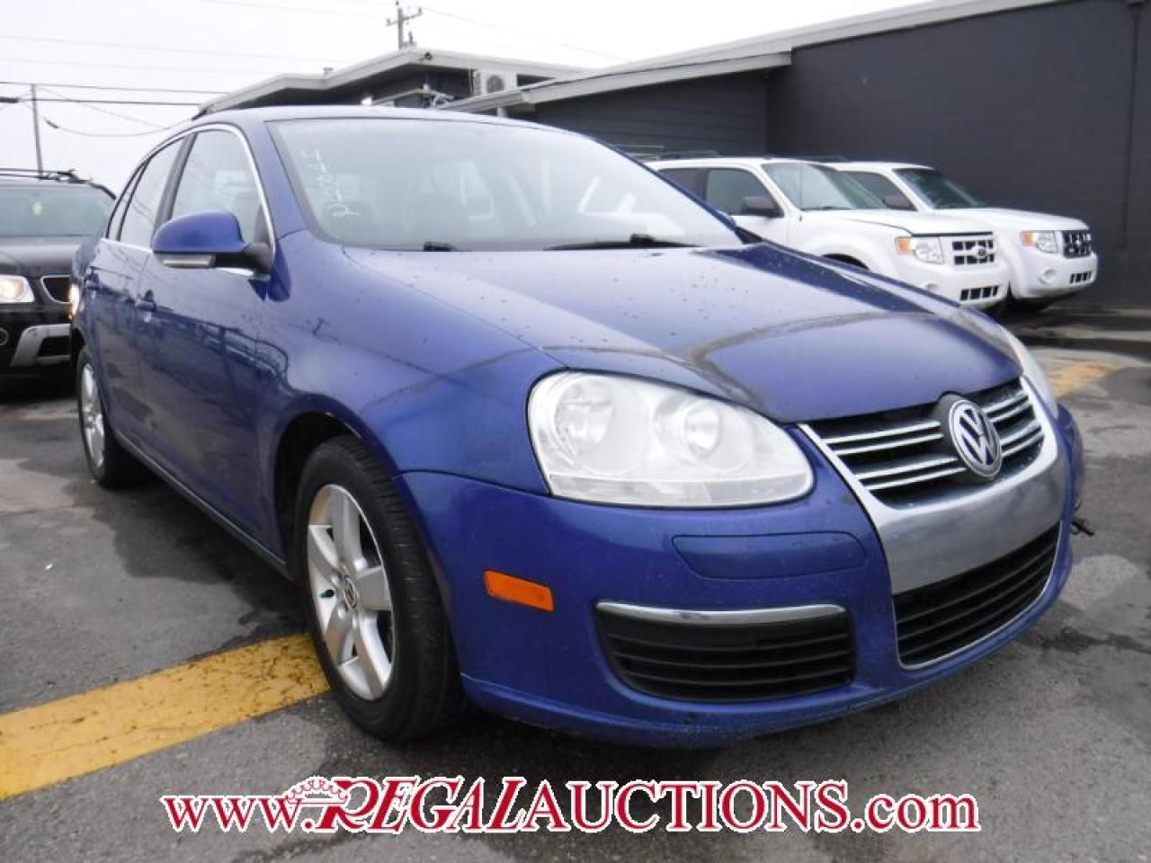 Photo of Blue 2008 Volkswagen Jetta