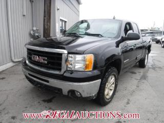 Used 2011 GMC Sierra 1500 SLE Ext Cab 4WD for sale in Calgary, AB