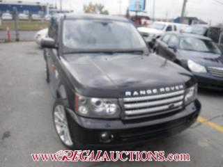 Used 2008 Land Rover Range Rover Sport Super Charged 4D Utility 4WD for sale in Calgary, AB