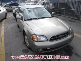 Used 2003 Subaru Outback HR 4D Wagon AWD for sale in Calgary, AB