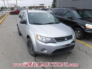 Used 2009 Mitsubishi Outlander 4D Utility for sale in Calgary, AB