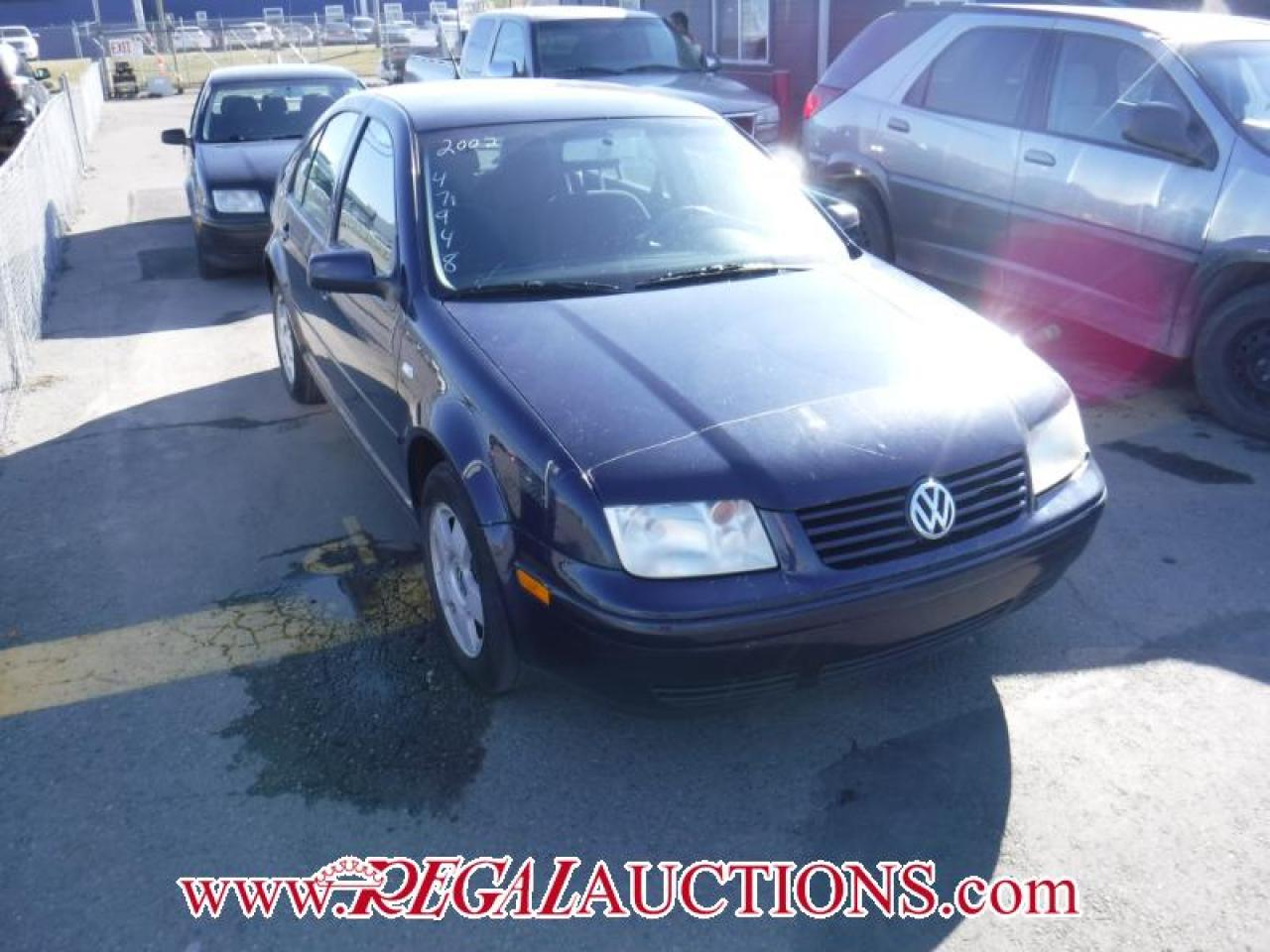 Photo of Blue 2002 Volkswagen Jetta