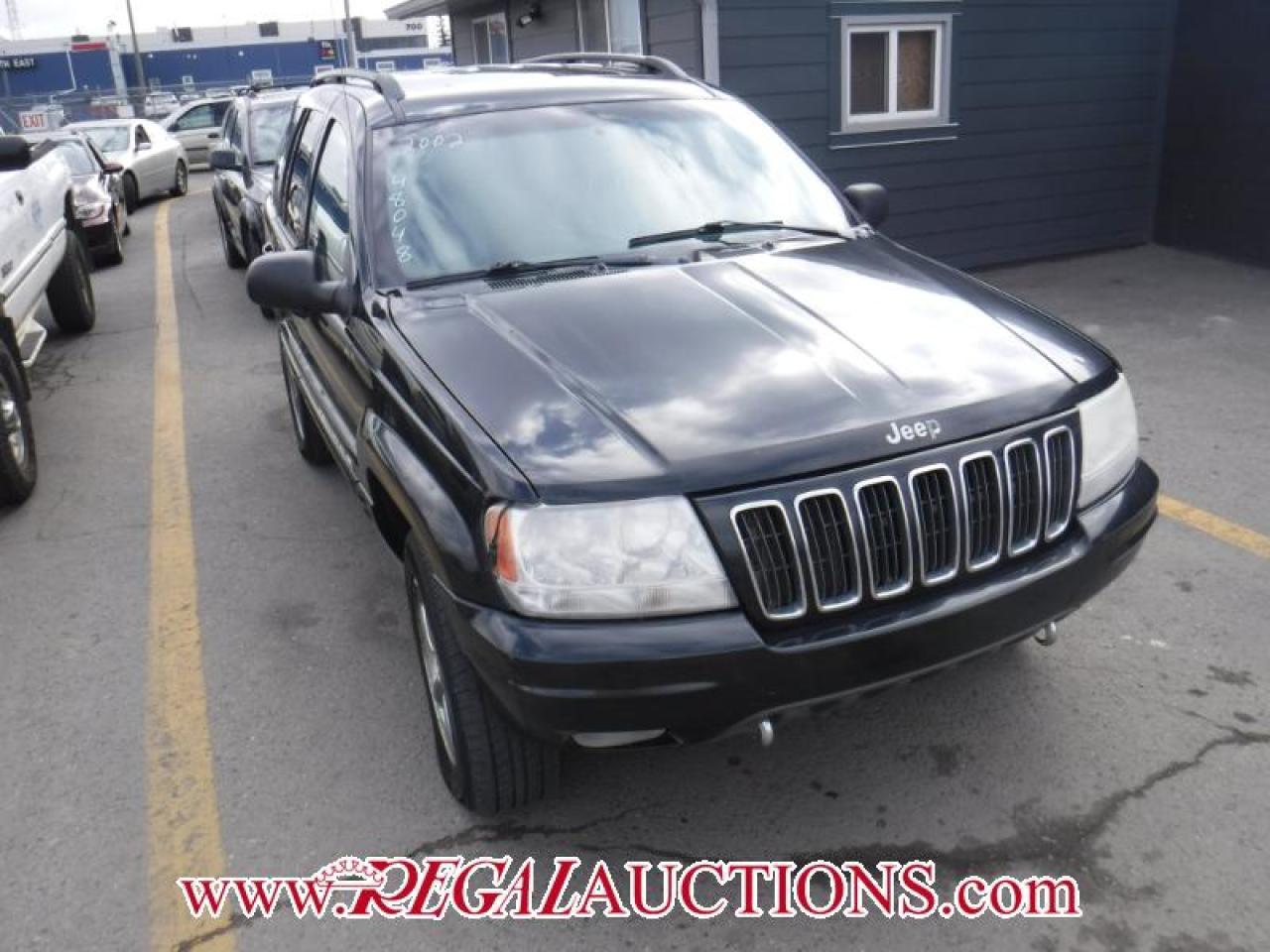Photo of Black 2002 Jeep Grand Cherokee