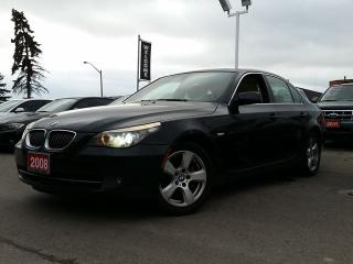 Used 2008 BMW 5 Series 528xi/NAV/SUNROOF/LEATHER for sale in Brampton, ON