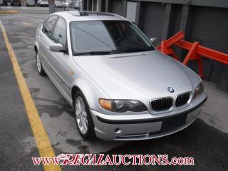 Used 2004 BMW 3 Series 330XI 4D Sedan for sale in Calgary, AB