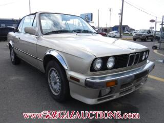 Used 1987 BMW 325i 2D Convertible for sale in Calgary, AB