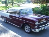 Photo of Burgundy 1955 Chevrolet Bel Air