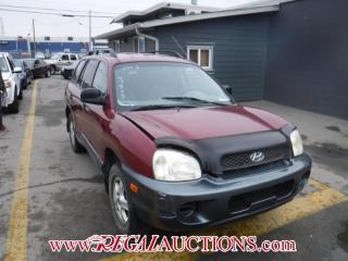 Used 2003 Hyundai Santa Fe GL 4D Utility AWD for sale in Calgary, AB