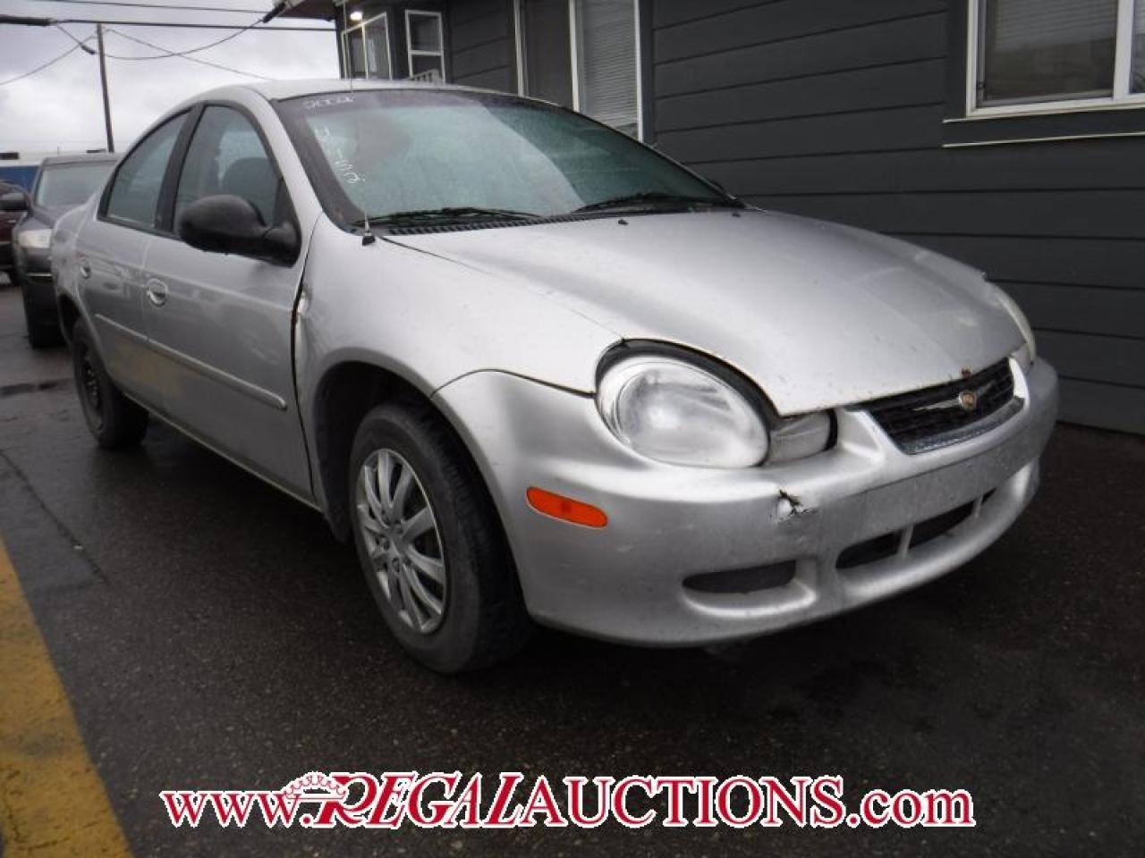 Photo of Silver 2002 Chrysler Neon