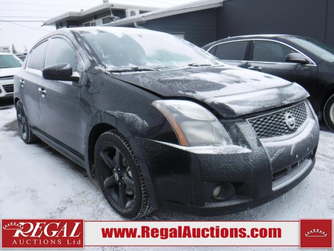 Photo of Black 2012 Nissan Sentra
