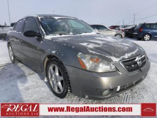 Used 2003 Nissan Altima SE 4D Sedan for sale in Calgary, AB