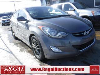 Used 2013 Hyundai Elantra Limited 4D Sedan for sale in Calgary, AB