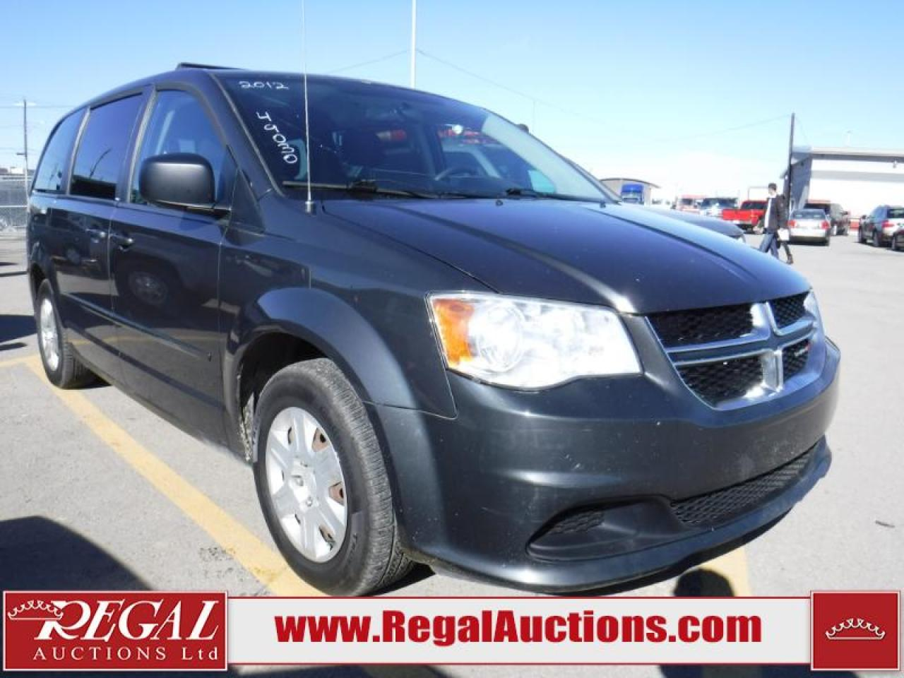 Photo of Black 2012 Dodge Grand Caravan