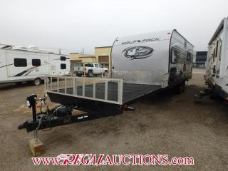 Used 2016 FOREST RIVER CHEROKE WOLF PACK 20PACK10  TOY HAULER for sale in Calgary, AB