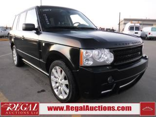 Used 2007 Land Rover Range Rover Supercharged 4D Utility 4WD for sale in Calgary, AB