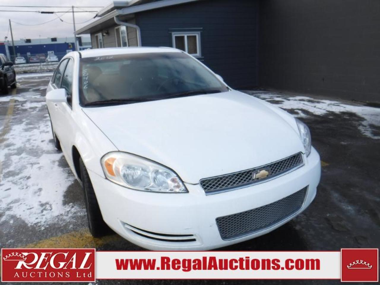 Photo of White 2012 Chevrolet Impala