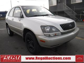 Used 1999 Lexus RX 300 4D UTILITY AWD for sale in Calgary, AB