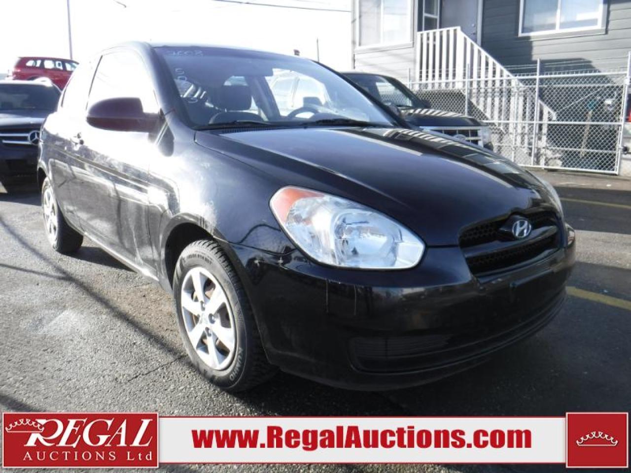 Photo of Black 2008 Hyundai Accent