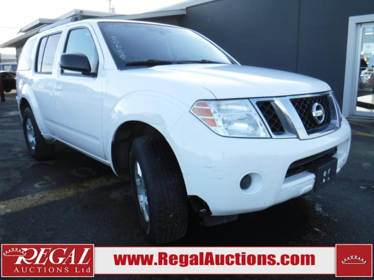 Photo of White 2008 Nissan Pathfinder