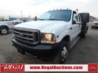 Used 2004 Ford F-550 XL Supercab Flat Deck 2WD for sale in Calgary, AB