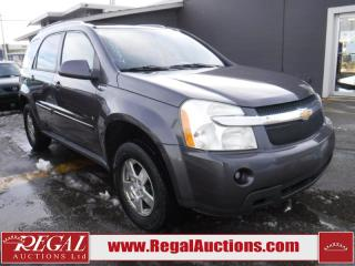 Used 2007 Chevrolet Equinox LT 4D Utility AWD for sale in Calgary, AB