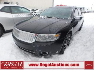Used 2007 Lincoln MKZ Base 4D Sedan AWD 3.5L for sale in Calgary, AB