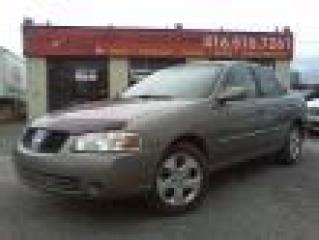 Used 2004 Nissan Sentra fully loaded for sale in Etobicoke, ON