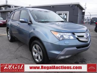 Used 2008 Acura MDX Elite PKG 4D Utility 4WD for sale in Calgary, AB