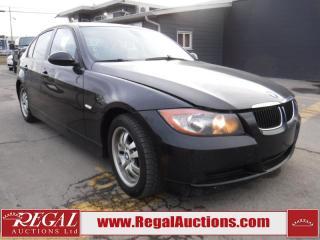 Used 2007 BMW 3 Series 323I 4D Sedan RWD 2.5L for sale in Calgary, AB
