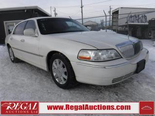Used 2004 Lincoln Town Car Ultimate 4D Sedan for sale in Calgary, AB