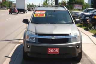 Used 2005 Chevrolet Equinox CERTIFIED-CLEAN IN/OUT-132 KM LOADED AWD LT for sale in Scarborough, ON