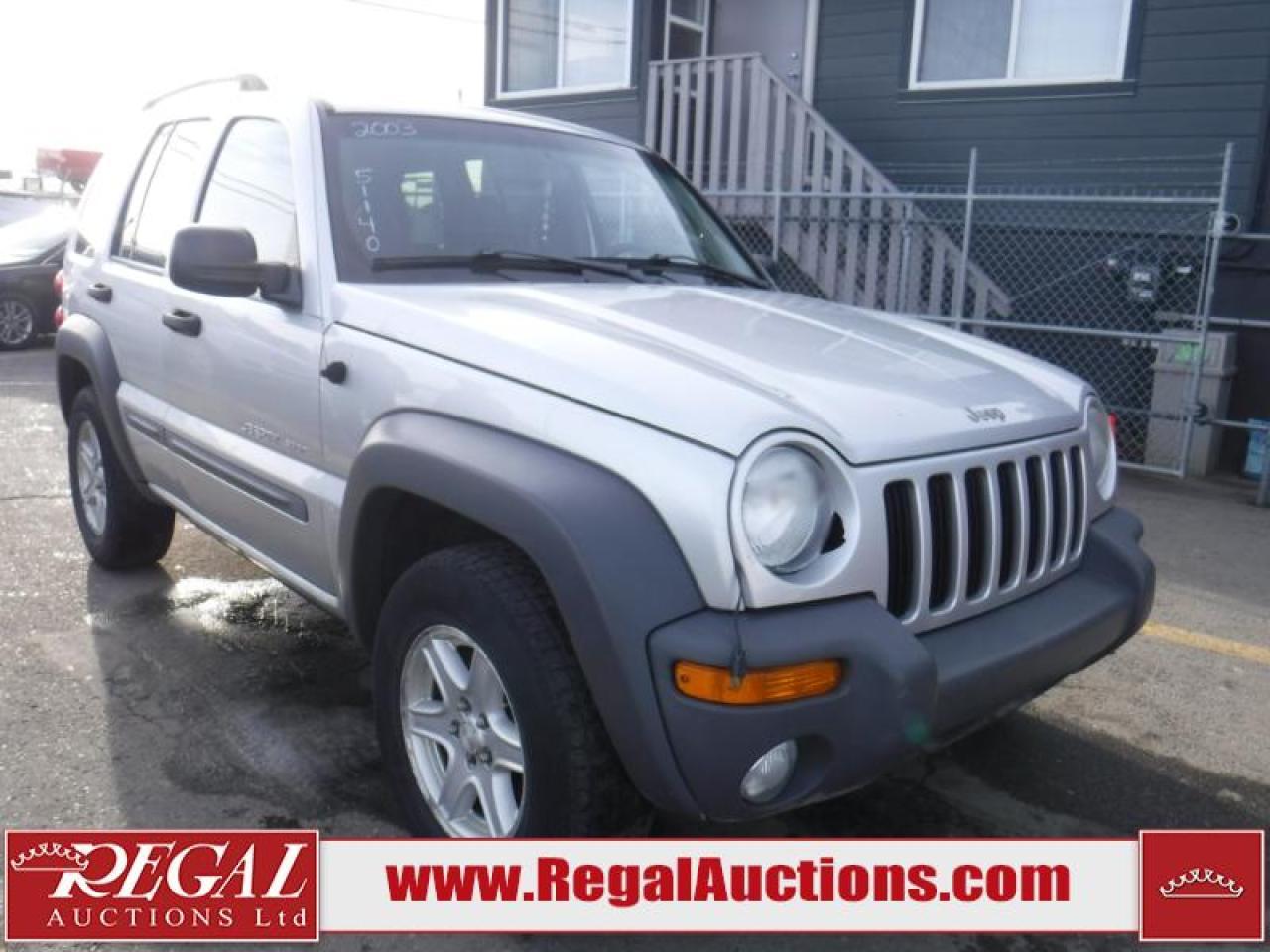 Photo of Silver 2003 Jeep Liberty