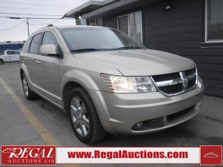 Used 2009 Dodge Journey R/T 4D Utility FWD for sale in Calgary, AB