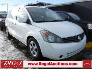 Used 2007 Nissan Quest 3.5S 4D Wagon for sale in Calgary, AB