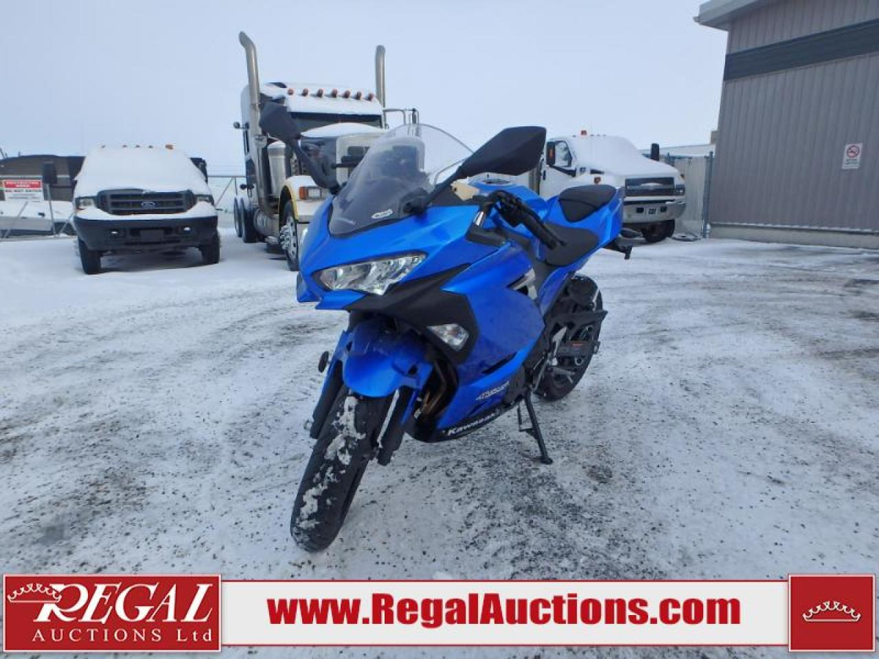Photo of Blue 2018 Kawasaki Ninja 400
