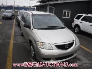 Used 2002 Mazda MPV DX 4D Wagon FWD for sale in Calgary, AB