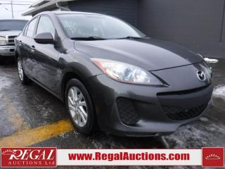 Used 2012 Mazda MAZDA3 4D Sedan for sale in Calgary, AB