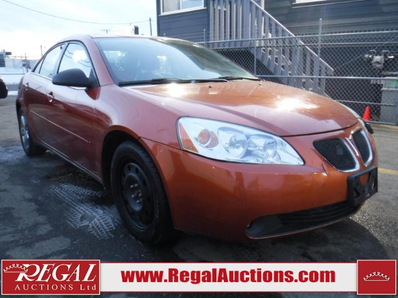 Photo of Orange 2006 Pontiac G6