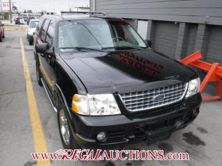 Used 2003 Ford EXPLORER EDDIE BAUER LIMITED 4D UTILITY for sale in Calgary, AB