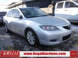 Used 2008 Mazda MAZDA3 GS 4D Sedan for sale in Calgary, AB