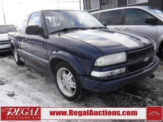 Used 2003 Chevrolet S-10 for sale in Calgary, AB