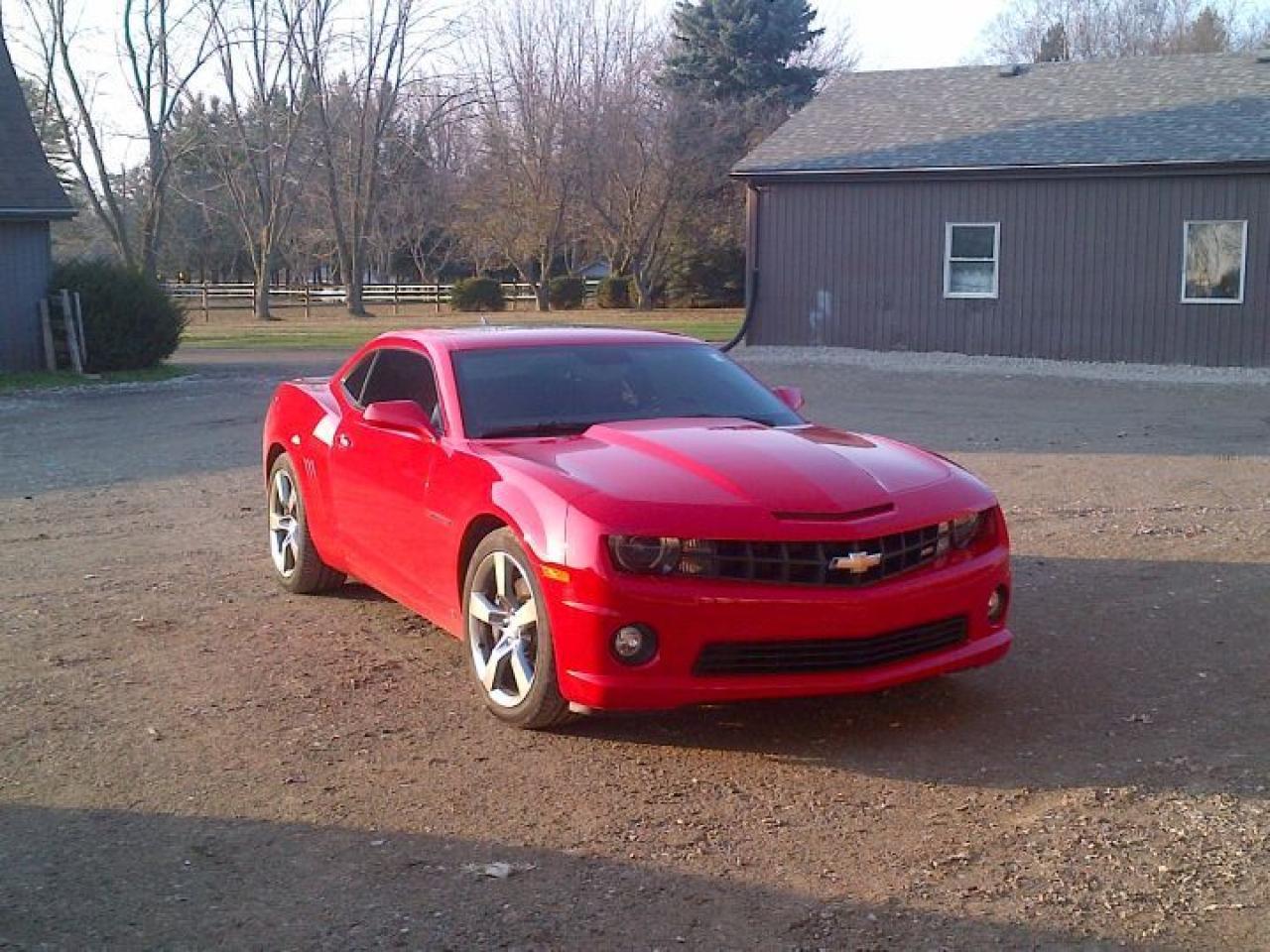 Photo of Red 2010 Chevrolet Camaro