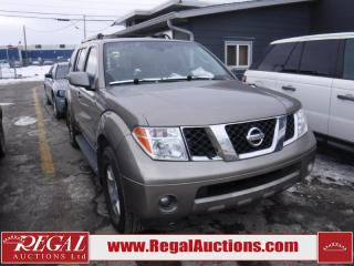 Used 2007 Nissan Pathfinder Utility 2WD for sale in Calgary, AB