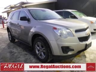 Used 2013 Chevrolet Equinox 4D Utility 4WD for sale in Calgary, AB