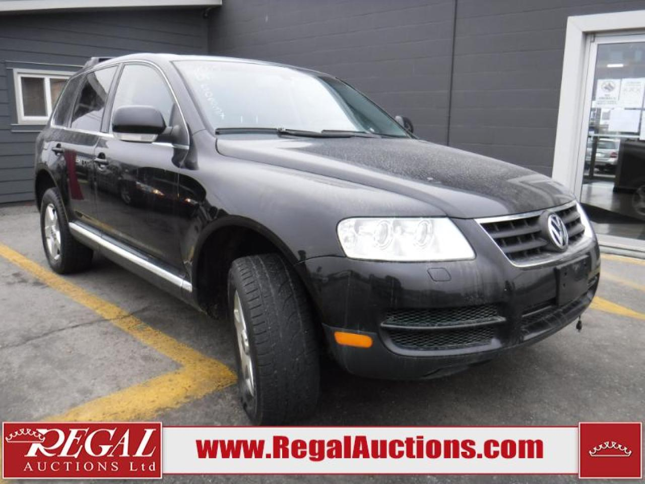 Photo of Black 2005 Volkswagen Touareg