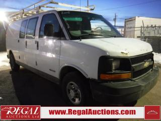 Used 2005 Chevrolet G3500 Express VAN for sale in Calgary, AB