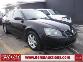 Used 2005 Nissan Altima 4D Sedan for sale in Calgary, AB