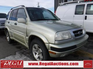 Used 2002 Suzuki Grand Vitara 4D Utility 4WD for sale in Calgary, AB
