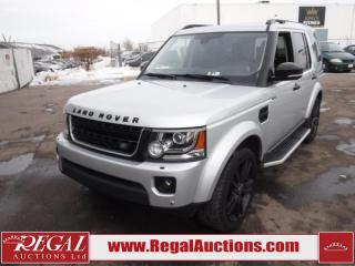 Used 2016 Land Rover LR4 HSE 4D Utility V6 4WD 3.0L for sale in Calgary, AB